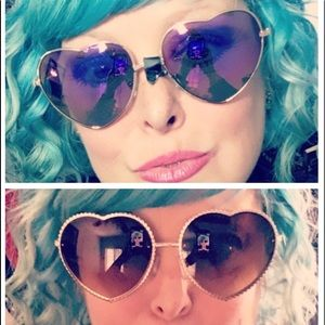 Accessories - Heart Wire Sunglasses (2 pairs)